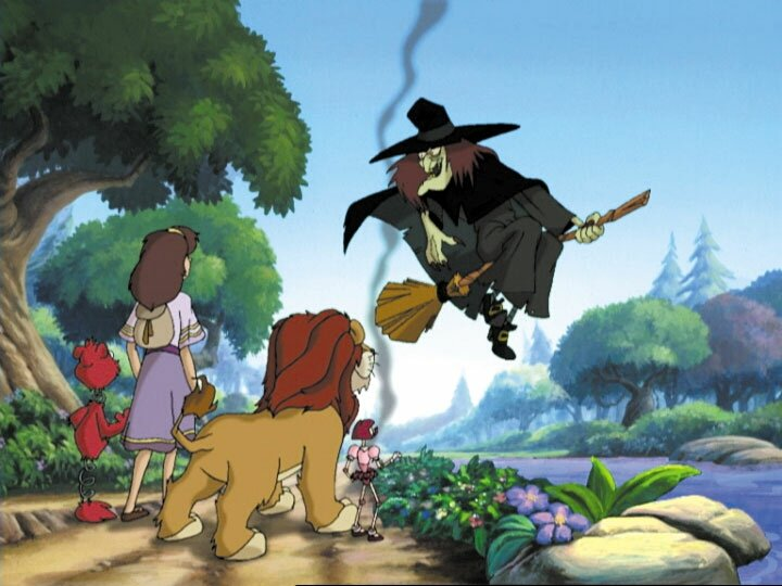 The Party Encounters The Wicked Witch Of The East In Lion Of Oz