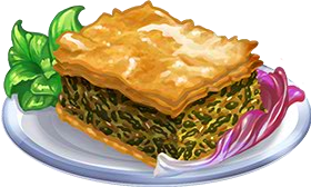 Recipe-Spinach Phyllo