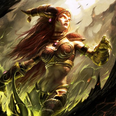 Alexstrasza the Life-Binder  Warcraft  the guardian of all life in the    Alexstrasza Human Form