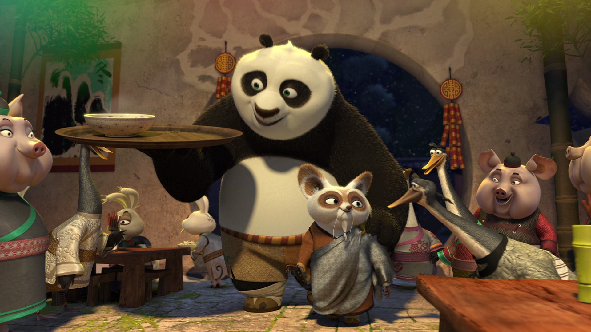 kung fu panda 2 meet the cast of days