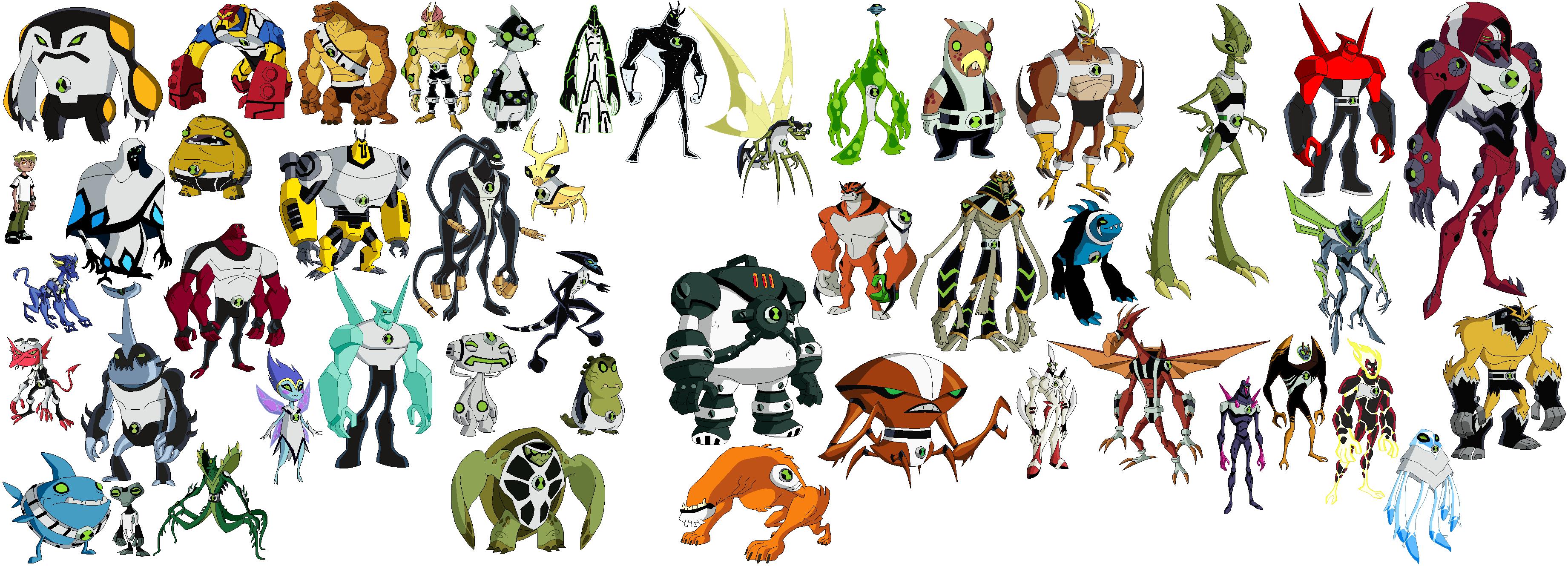 czeshop images ben 10 omniverse all aliens list
