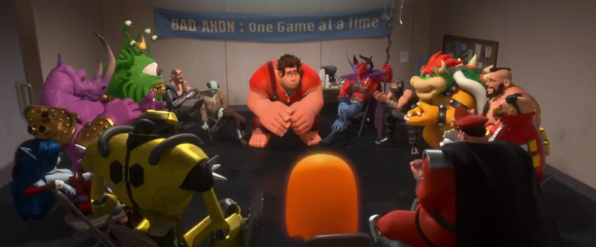 wreck it ralph redirected from list of cameos in wreck it ralph
