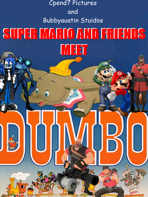 super mario and friends meet dumbo