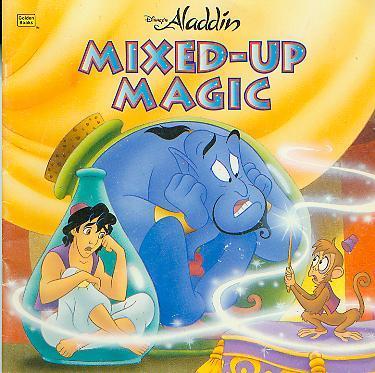 Disney S Aladdin Mixed Up Magic Golden Look Look Book