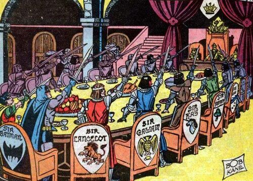 Knights of the round table dc comics database for 10 knights of the round table