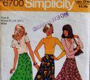 Simplicity 6700 A