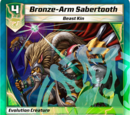 Bronze-Arm Sabertooth