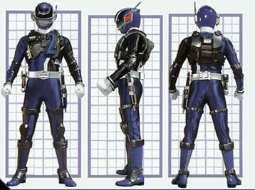 Image - SPD Blue Ranger Swat Mode.jpg - Power Rangers Wiki