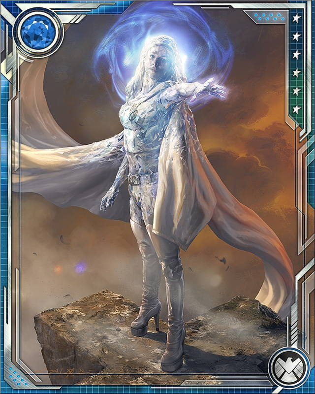[Conglomerate] Emma Frost - Marvel: War of Heroes Wiki X Men Girl Power Form