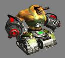 Tank biomechanoid