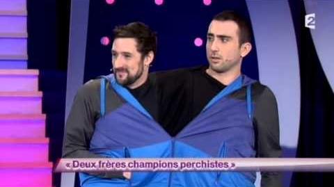 Deux frères champions perchistes