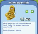Charmin Super Toilet