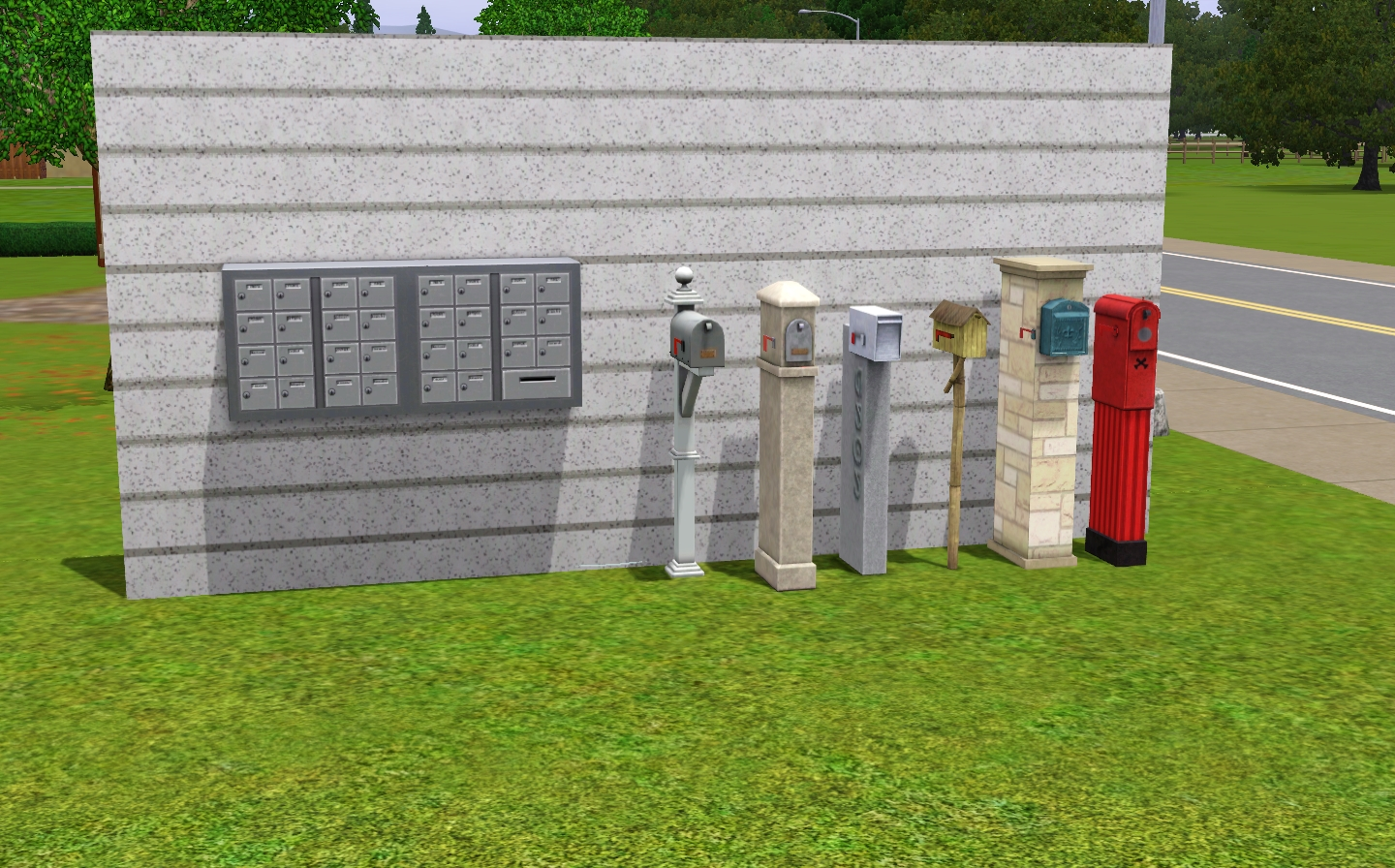 Mailbox The Sims Wiki