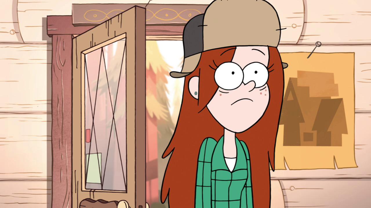Gravity Falls Wendy S Room