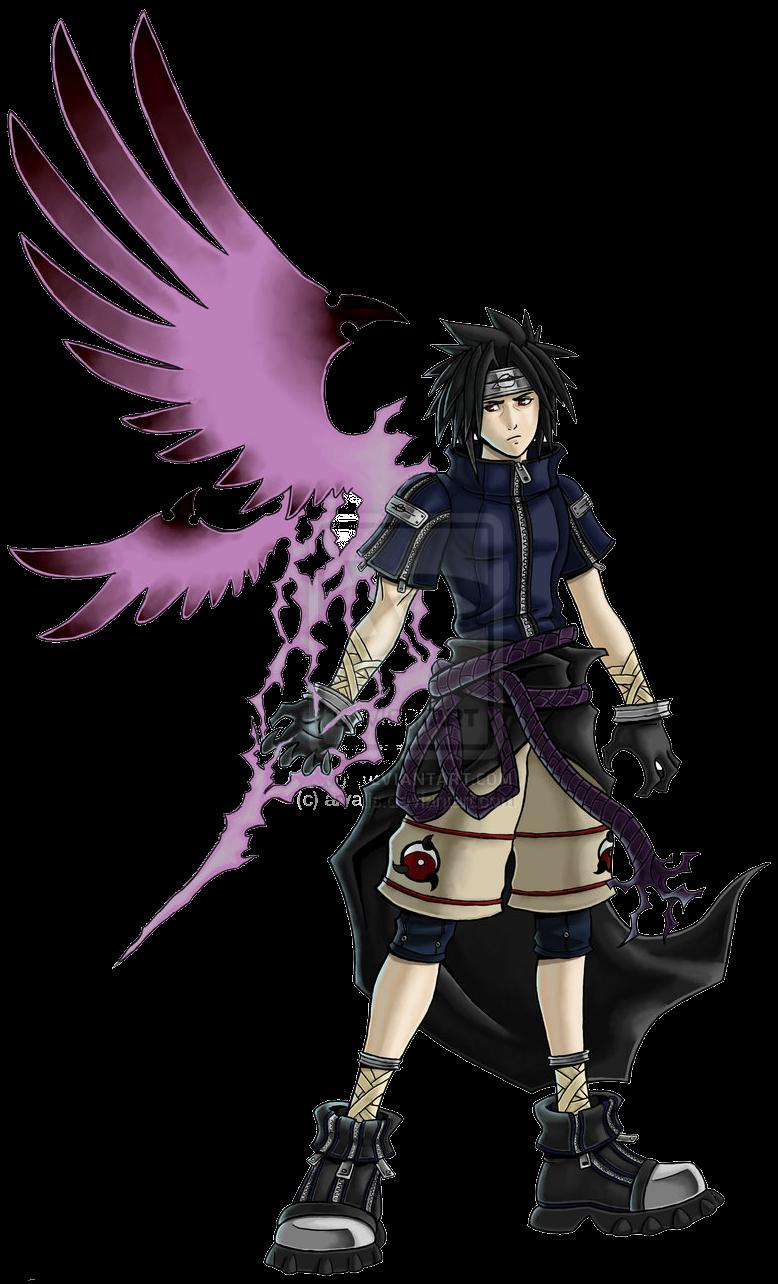 Imagen sasuke purple kingdom hearts fannon wiki de wikia wiki dedicada a fannon - Demon de sasuke ...