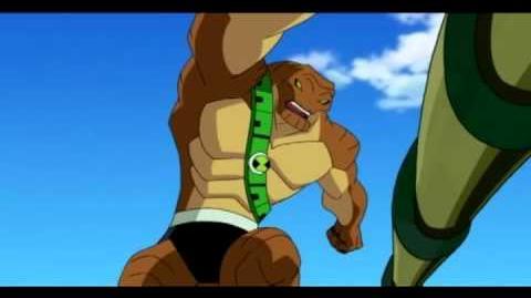 Ben 10 Omniverse - Humungousaur Transformation 1