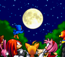 Sonic Advance sprites
