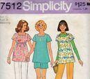 Simplicity 7512 B