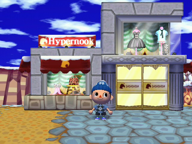 Magasin de tom nook animal crossing wiki - Animal crossing wild world hair salon ...