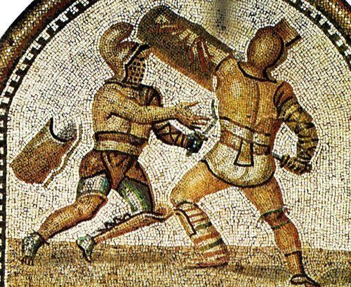 Inaugural games of the Flavian Amphitheatre