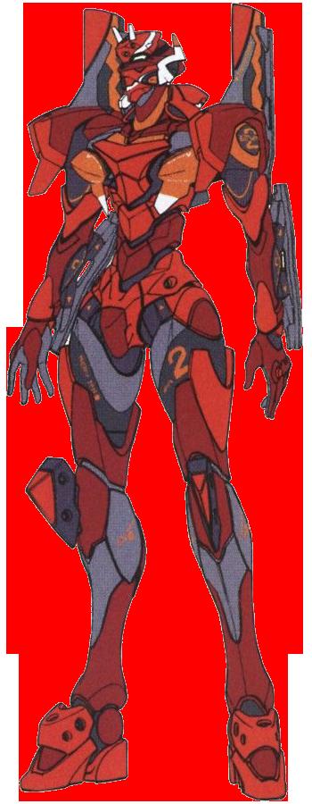 Image - Evangelion Unit-02 Type II.png - Neon Genesis ...