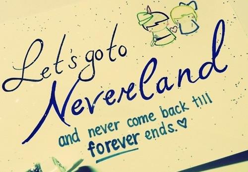 Image - Adorable,cartoon,cute,disney,peterpan,quote ... Cute Peter Pan Quotes