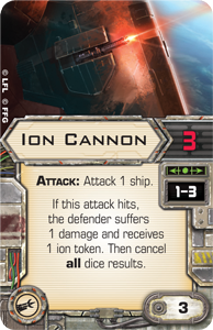 Ion Cannon X Wing Miniatures Wiki