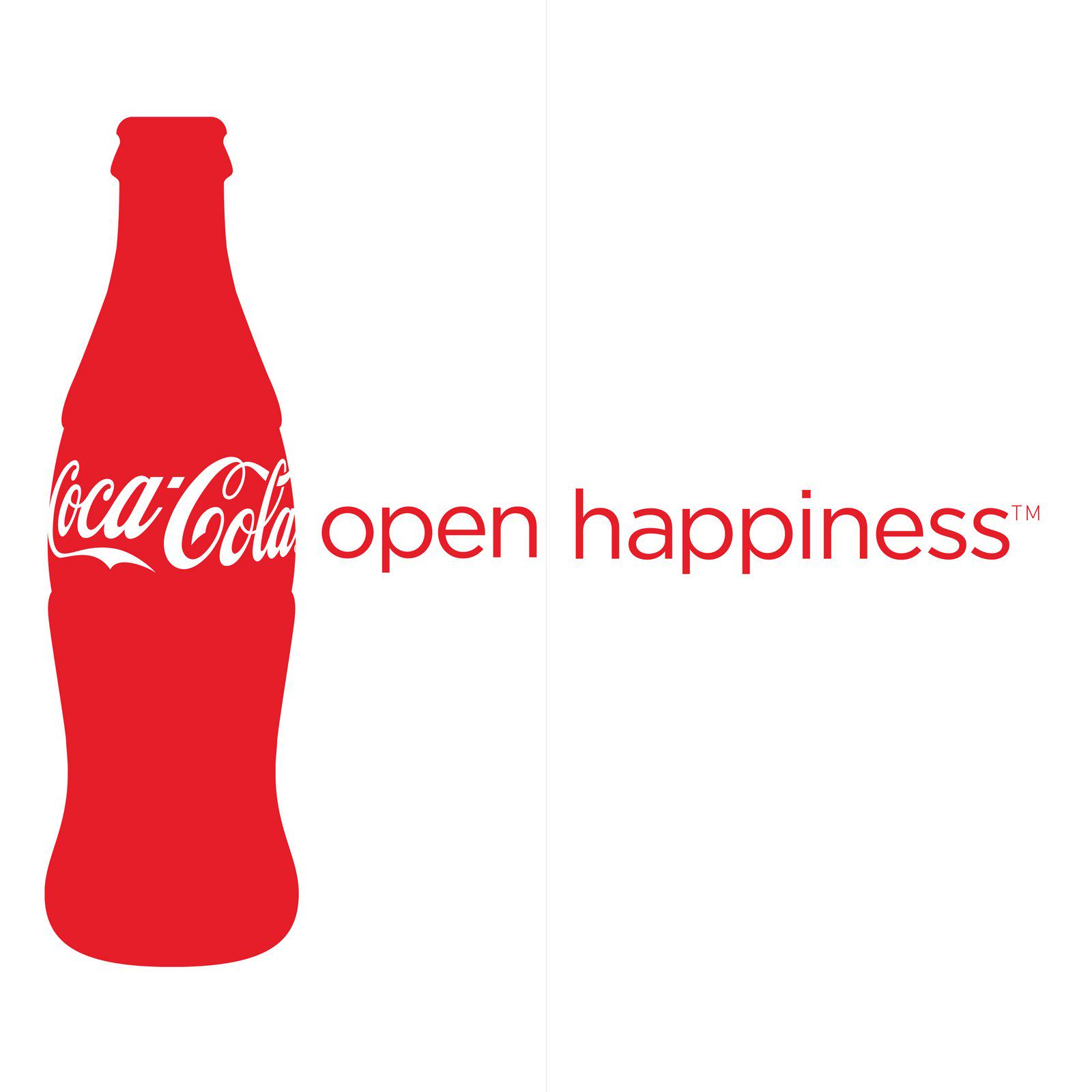 Open Happiness Coca Cola Bottle Png