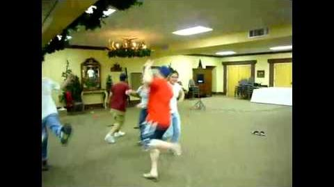 Travis Alexander Does Chicken Dance Jodi Arias Seen in Background Taking Photos of Him