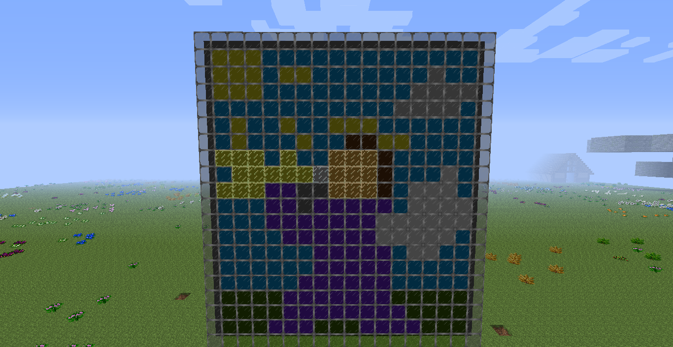 Stained glass minecraft big dig pack wiki for Window design minecraft