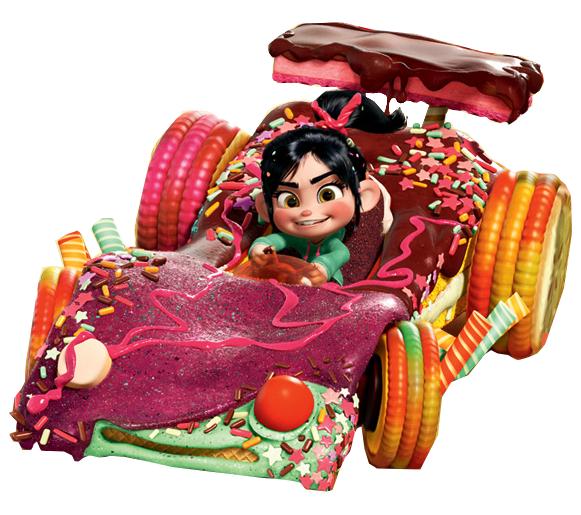 Candy Kart - Disney Wi... Vanellope Von Schweetz Sugar Rush