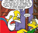 The Simpsons Winter Wingding stories