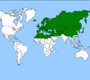 Kamerplant uit het Palearctisch gebied