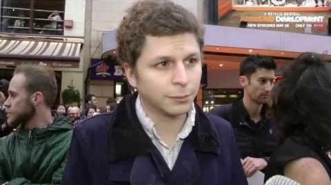 Michael Cera Interview - Series 4 Premiere