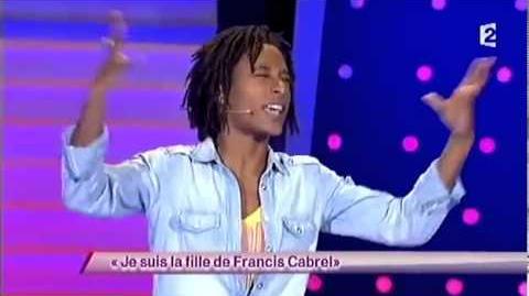 Je suis la fille de Francis Cabrel