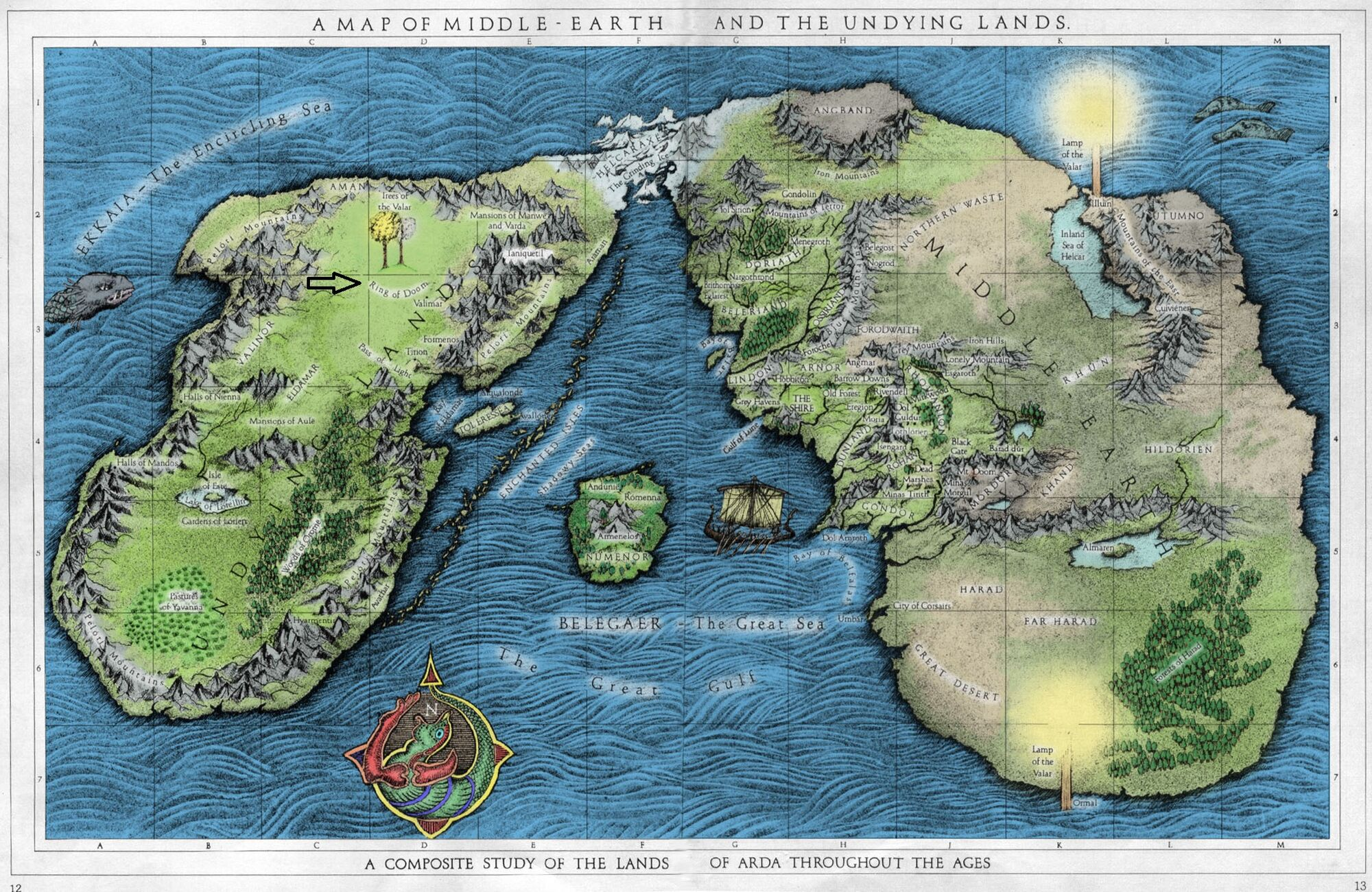 Silmarilion - Page 5 2000px-A_Map_of_Middle-earth_and_the_Undying_Lands_color