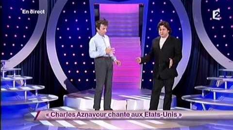 Charles Aznavour chante aux Etats-Unis