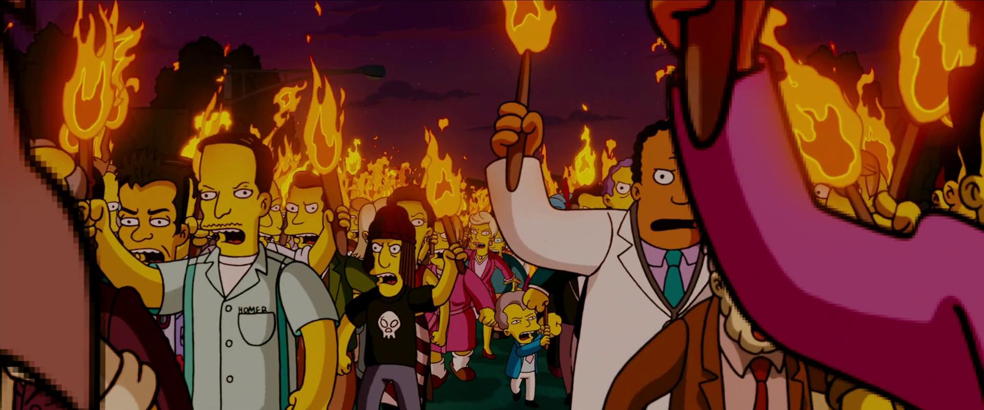 Un Ojo The Simpson Movie 2007