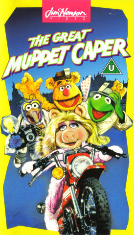 The Great Muppet Caper (video) - Disney Wiki The Muppet Movie Vhs 1994