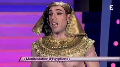 Manifestation d'Egyptiens