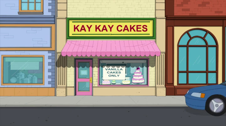 Cake Decorating Classes Cleveland : Kay Kay Cakes - The Cleveland Show Wiki - Seth MacFarlane ...