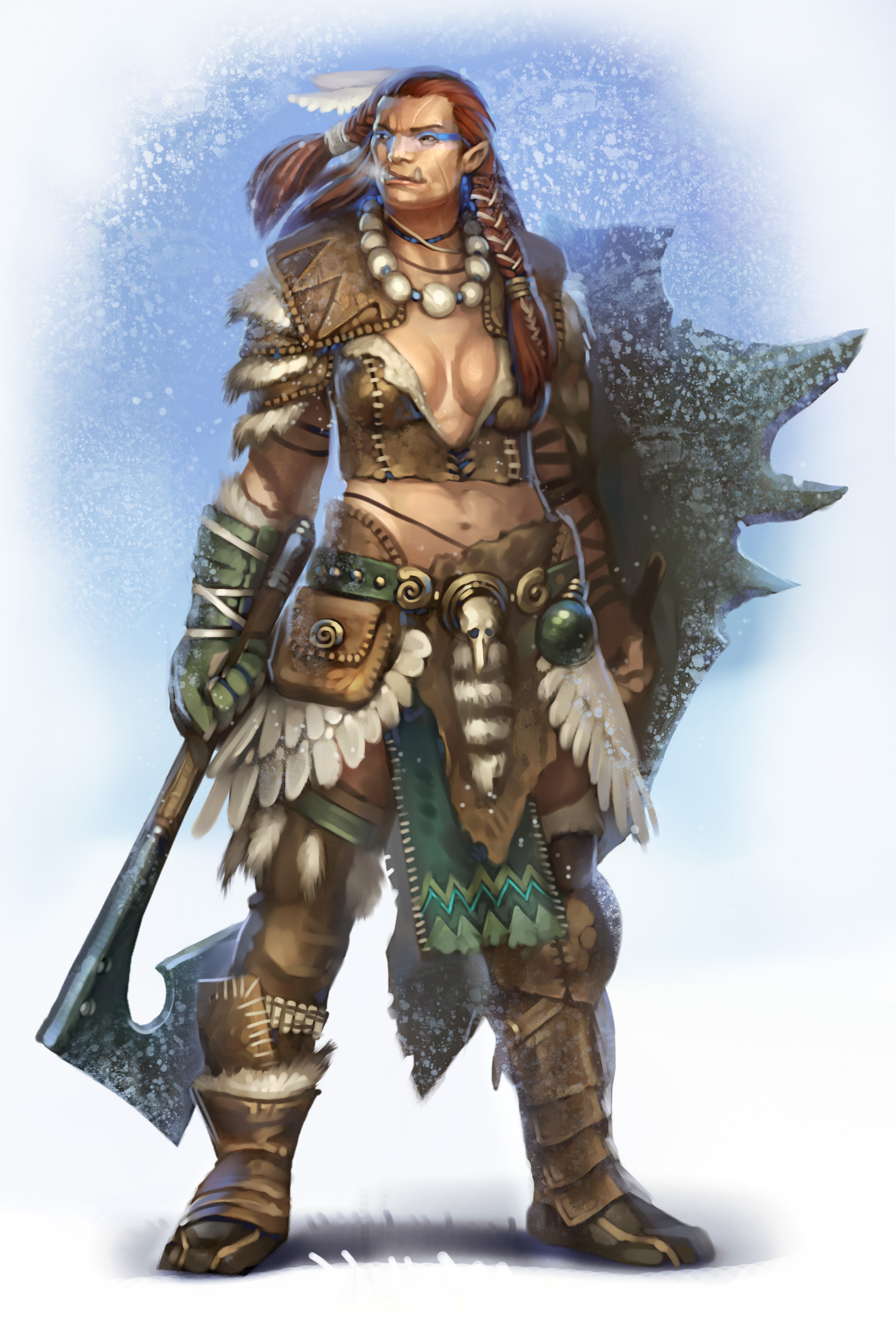 Opinion female orc warrior