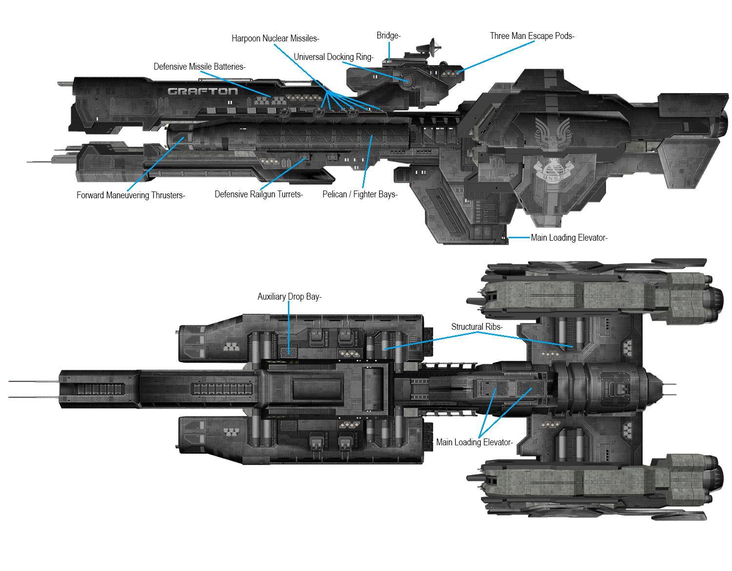 Jul'-s flagship is the size of a CCS-class | Halo Universe | Forums ...
