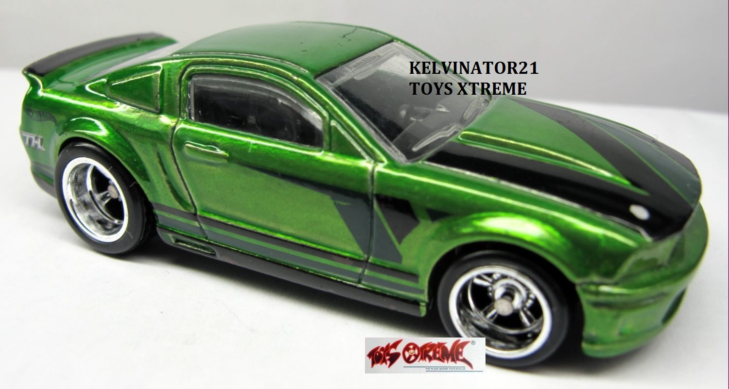07 Ford Mustang Green