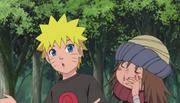 Naruto ensinando Yota assoviar