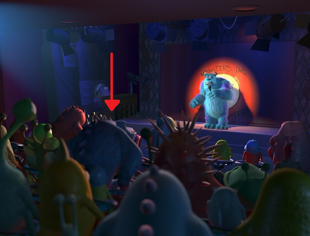 Monsters Inc Claws Ward Related Keywords & Suggestions - Monsters