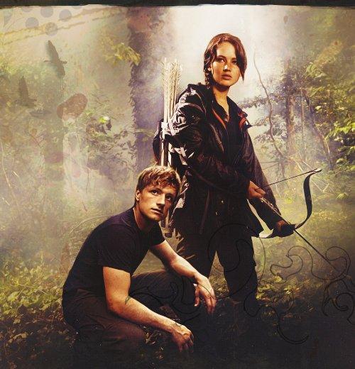 Die Tribute Von Panem Katniss Und Peeta