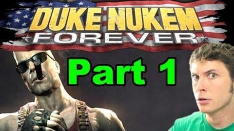 DUKE NUKEM IMPERSONATION - DUKE NUKEM FOREVER - Part 1