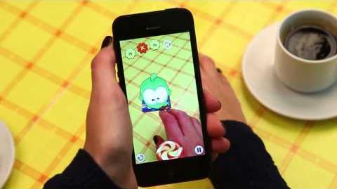Om Nom Candy Flick (Cut the Rope)