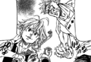 Meliodas and Ban wants to enter the fight festival.png